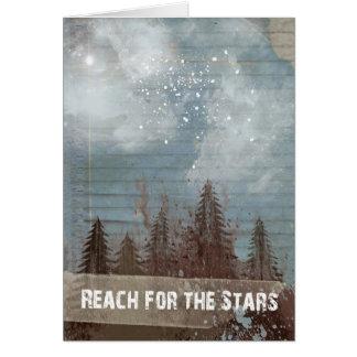 """""""Reach For The Stars"""" Graduation Card"""