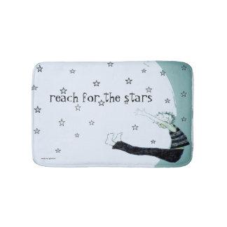 Reach for the Stars Inspirational Bathroom Mat