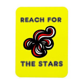 """""""Reach for the Stars"""" Magnet"""