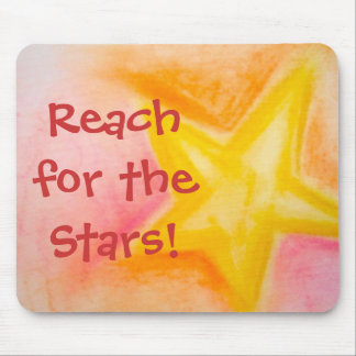 Reach for the Stars! mousepad