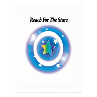 Reach For The Stars Postcard