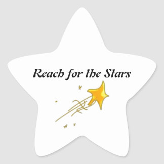 Reach For the Stars Star Sticker