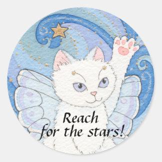 Reach for the stars sticker
