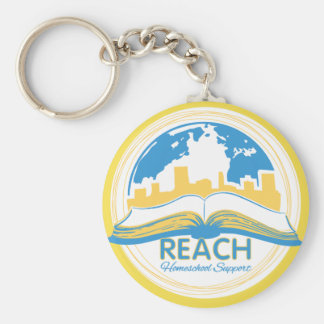 REACH logo keychain