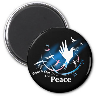 Reach Out... For Peace Magnet