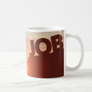 Reaching for a Job Coffee Mug