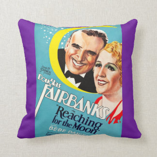 Reaching for the Moon Throw Pillow