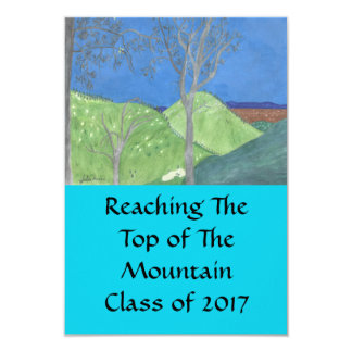 Reaching The Top of The Mountain- Grad Invites