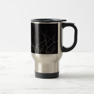 Reaching to the light! travel mug