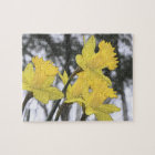 Reaching Upwards - Yellow Daffodils Jigsaw Puzzle