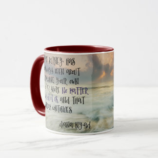 Reaching Your Own Other Shore Mug
