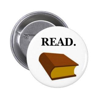READ. 2 INCH ROUND BUTTON