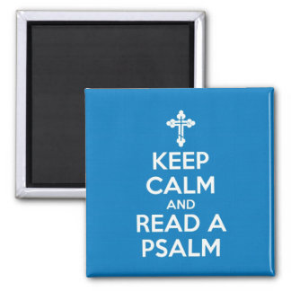 Read A Psalm Magnet