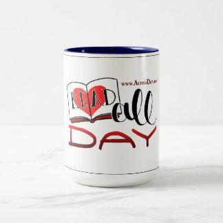 READ ALL DAY mug