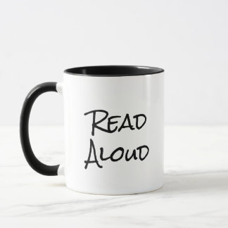 Read Aloud with Your Voice Mug