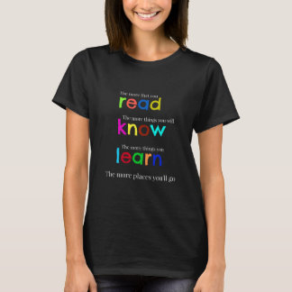 Read and learn T-Shirt