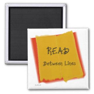 Read Between Lines Magnet