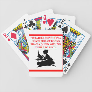 READ BICYCLE PLAYING CARDS