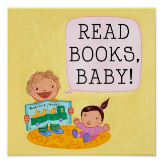 Read Books, Baby! poster