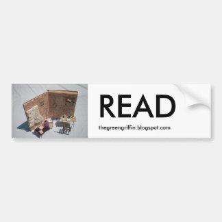 READ Bumper Sticker Car Bumper Sticker