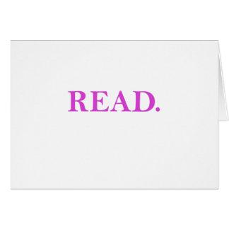 Read Card