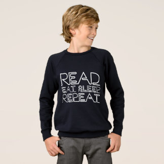 Read, Eat, Sleep, Repeat Sweatshirt