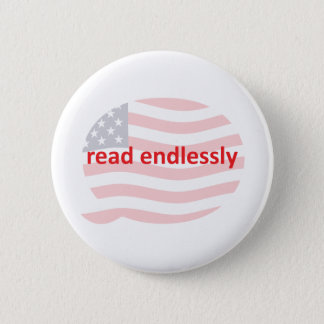 Read Endlessly 2 Inch Round Button