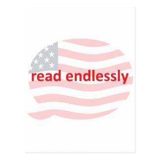 Read Endlessly Postcard