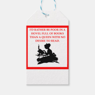 READ GIFT TAGS