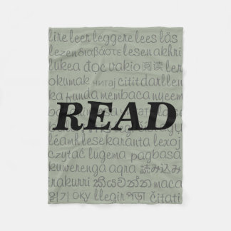 """READ"" in Different Languages Blanket"