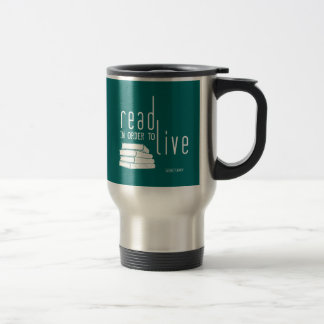Read in order to Live Travel Mug