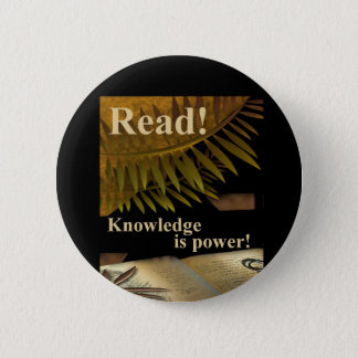 Read! Knowledge is Power Button