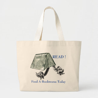 READ ! LARGE TOTE BAG