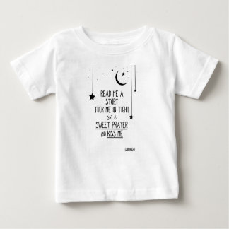 Read Me a Story With Stars And Moon Baby T-Shirt