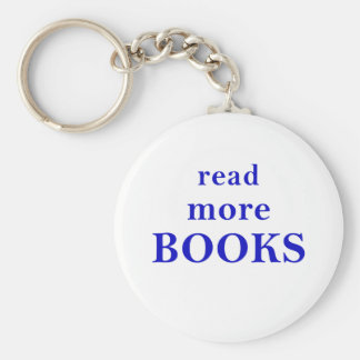 Read More Books Keychain