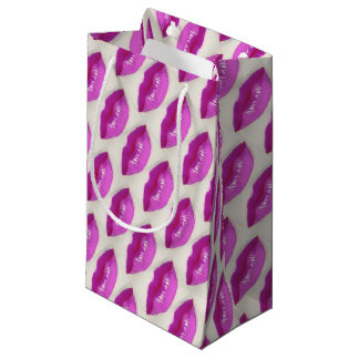 Read My Lips! No Boring Gift Wrap! Small Gift Bag