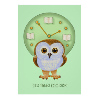 Read O Clock Poster