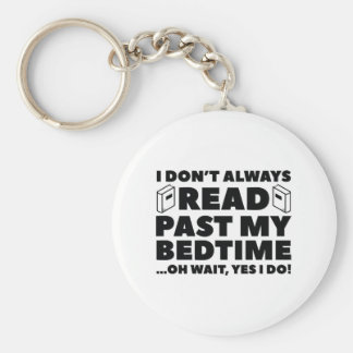 Read Past My Bedtime Keychain