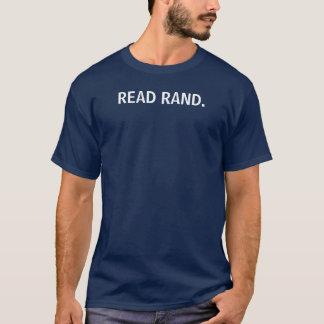 READ RAND. T-Shirt