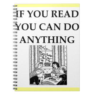 READ SPIRAL NOTE BOOK