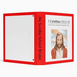 Read the Bible 1 Corinthians 13:11-13 Vinyl Binders