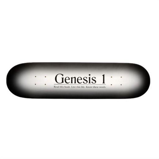 Read the Bible Genesis 1 Skate Boards
