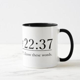 Read the Bible Matthew 22:37 Mug