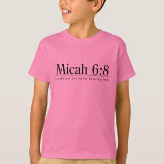 Read the Bible Micah 6:8 T-Shirt