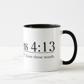 Read the Bible Philippians 4:13 Mug