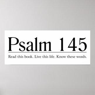 Read the Bible Psalm 145 Print