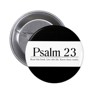 Read the Bible Psalm 23 2 Inch Round Button