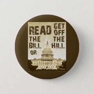 Read The Bill 2 Inch Round Button