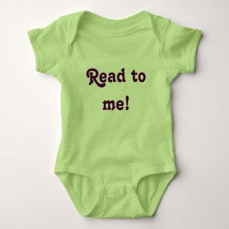Read to me! baby bodysuit