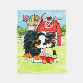 Read with Me Jo and Simon sloppy kisses blanket